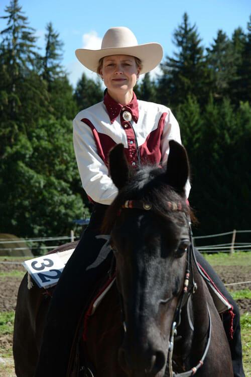 Gerti Merk, Clay Pit Stables Pferdearbeit und Saloon